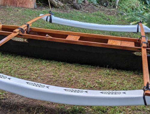 Hawaiian Style Three Plank Canoe