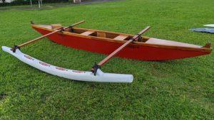 Hawaiian style canoe