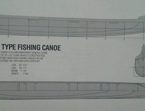 Opelu Canoe Model